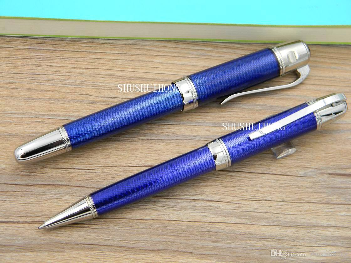 Новый бизнес написание офис великий писатель полоса выгравированы шаблон классический океан подарок горячая металлическая шариковая ручка