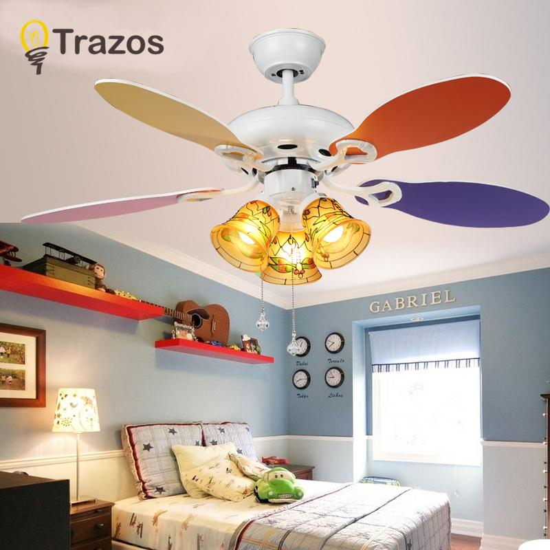 2019 42 Inch Modern Quiet Ceiling Fan Kids Room Ceiling Fans With Lights  Mini Fan Lamp Children Bedroom Light Lamp From Stylenew, $338.31 |  DHgate.Com
