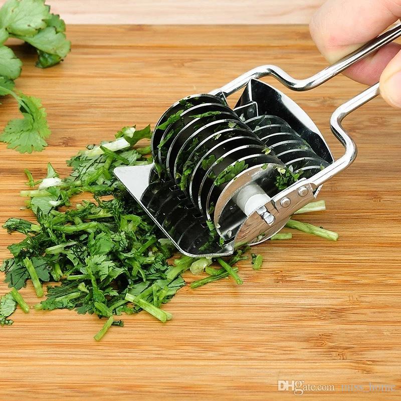 Kitchen Stainless Steel Vegetable Peeler Kitchen Accessories Gadgets Stainless Steel Onion Chopper Slicer Garlic Coriander Cutter Cooking