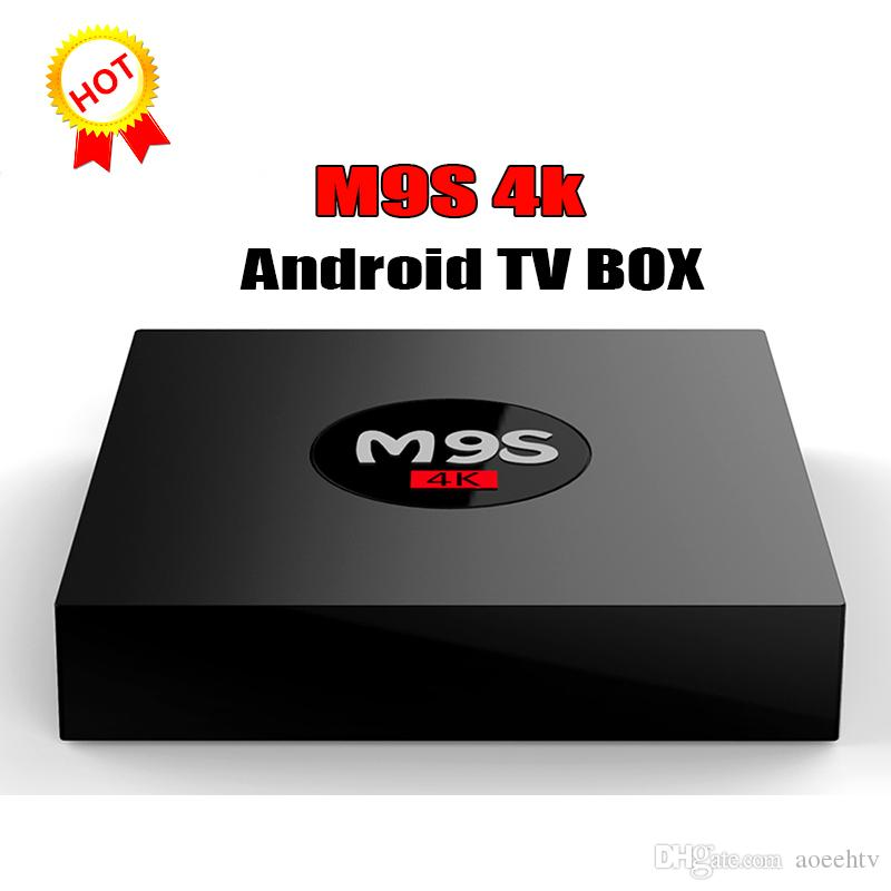 2018 new Stock M9S K3 Android 6 0 OTT TV BOX Rockchip RK3229 1G 8G H 265  Multimedia Player BET MXQ Pro A95X R1 Amlogic S905W S912