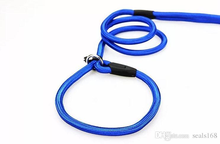 Haustier-Hundelaptopseil-Trainings-Leine-Beleg-Blei-Bügel-justierbares Zugkraft-Kragen-Haustier-Tier-Seil liefert Zusätze 0.6 * 130cm HH7-1173