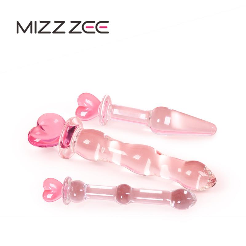 High Grade Crystal Glass Dildo Penis Glass Beads Anal Plug Butt Plug Sex  Toys For Man Woman Couples Vaginal And Anal Stimulation Y18110504 Pipe Dream  ...