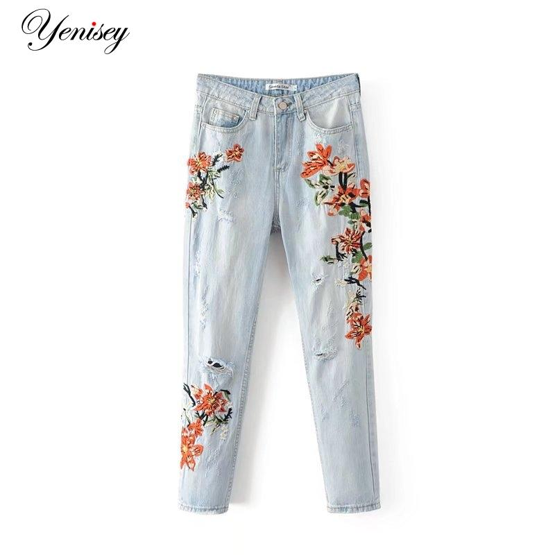 4e96e1c4e 2017 Top Fashion Zipper Pencil Pants Boyfriend Jeans For Women 70 ...