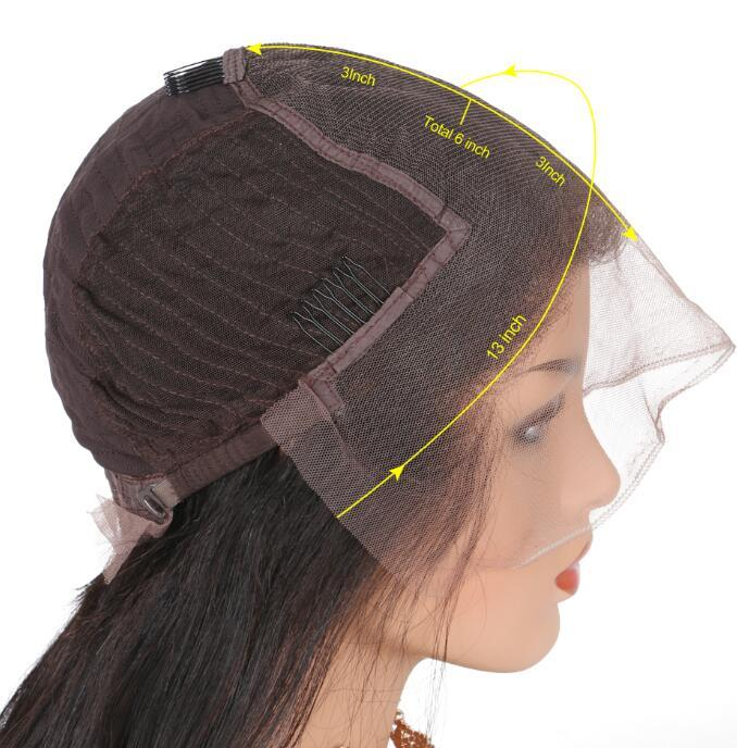 Малайзийская волна воды человеческих волос фронта шнурка 8-26inch нового прибытия полный парик шнурка Natural Color Glueless парики шнурка