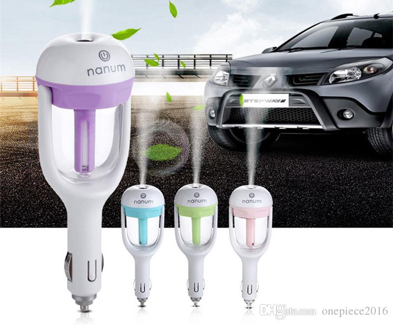 Hot sale High quality Mini Aroma Remove Smoke Fresh Air Humidifier For car Diffuser Mist Maker
