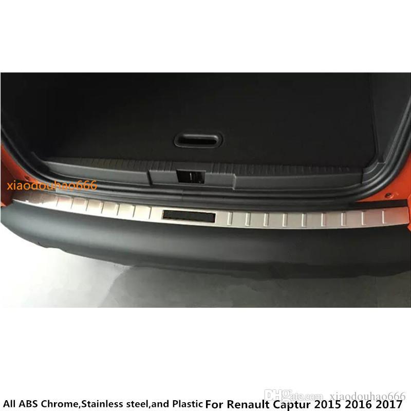 Pour En Plaque Couvercle Acier Garniture 2016 Renault Captur 2015 Inoxydable Voiture 2017 Autocollant Construit De Interne Arrière lKTFJ31c