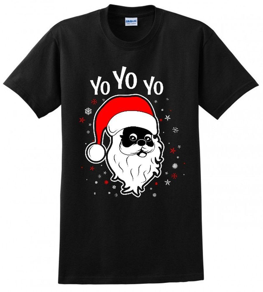 yo black santa claus ugly christmas sweater xmas gift funny mens tee t shirt deal with it t shirt ts shirts from yg07tshirt 1205 dhgatecom