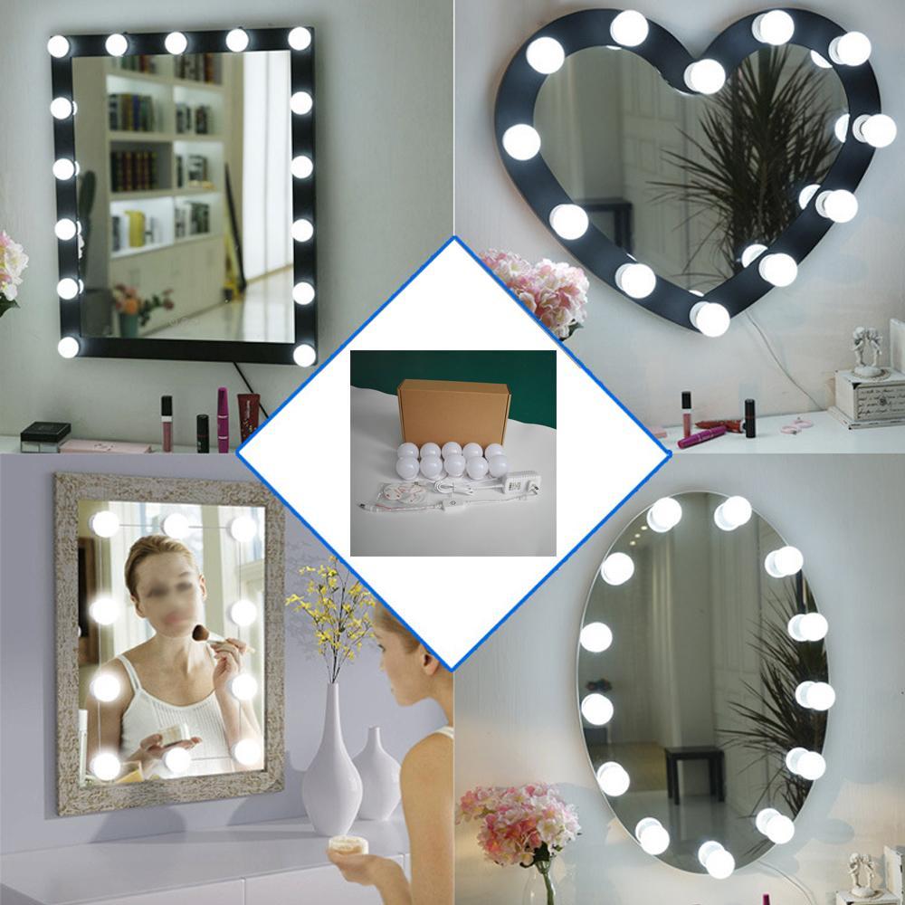 10 Pcs Bilden Lampe Fur Spiegel Vorderes Badezimmer Led Spiegel Licht E26 E27 Waschraum Umkleidekabine Wand Licht Modern