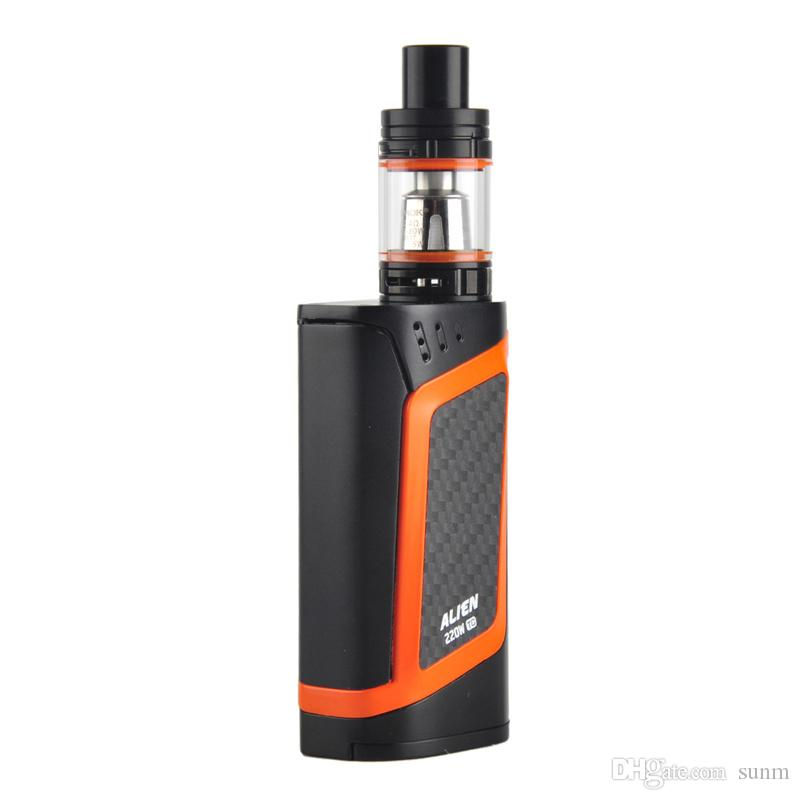 Hot sales Alien Kit With 220W Alien 220 Mod 3ml TFV8 Baby Tank Top Refill System vs alien al85 imini kit 0268047