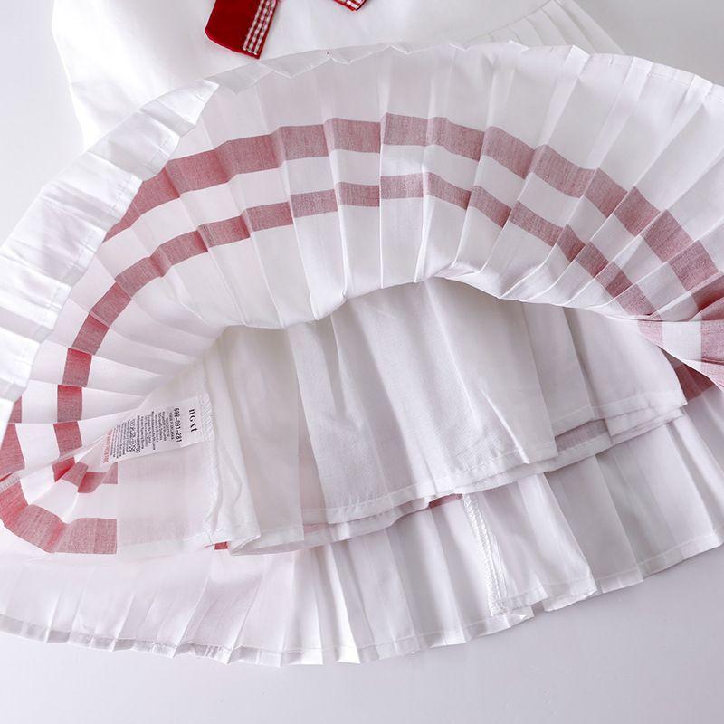 Baby Girls vest Dress Party 2018 Brand Summer Dresses Preppy Style Children Clothing Vestidos Girl Princess Dress Kids Costumes