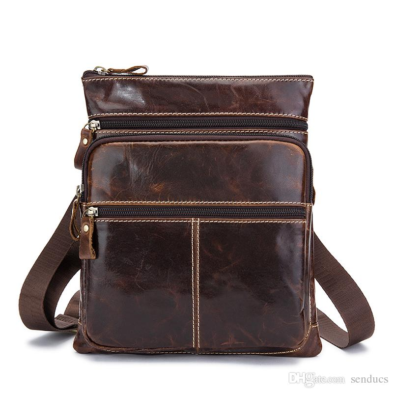 Senducs Men s Crossbody Bags Brand Genuine Leather Men Bag Men s ... 493b7033f9cc7