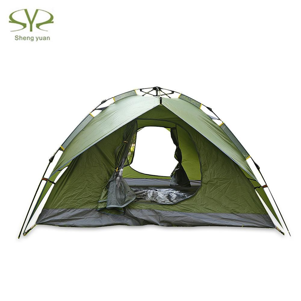 Shengyuan Water Resistant Automatic Pop Up 3 4 Person Sunscreen C&ing Tent Water Resistant C&ing Tent Automatic Instant Setup Canopy Tents Kelty Tents ...  sc 1 st  DHgate & Shengyuan Water Resistant Automatic Pop Up 3 4 Person Sunscreen ...