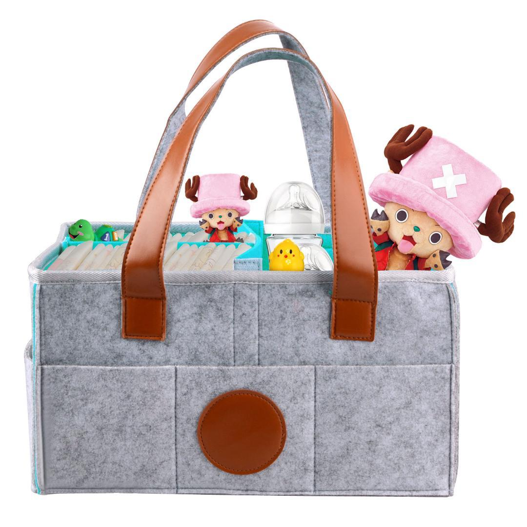 2018 Foldable Baby Diaper Caddy Organizer Portable Large Diaper ...