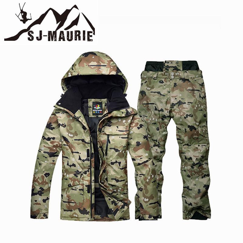 Chaud Camouflage Snowboard Sj Hiver Acheter Veste Super Maurie Hot HFqnqI0