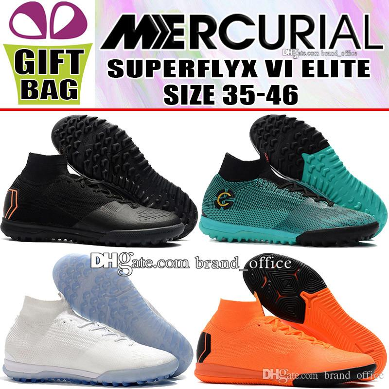 1887fabea New Original Mens Kids Womens Soccer Shoes Mercurial Superfly VI Elite TF  IC Indoor Football Boots Boys Turf SuperflyX ACC Soccer Cleats Pink Boots  For ...