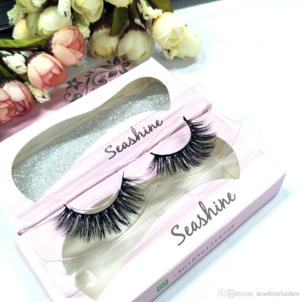 0b5a0003d75 Seashine Lashes New Style Natural Long Soft False Eyelashes Extension  Handmade Beauty Lashes Makeup Mink Hair Eyelash Extension For Beautifu  Individual ...