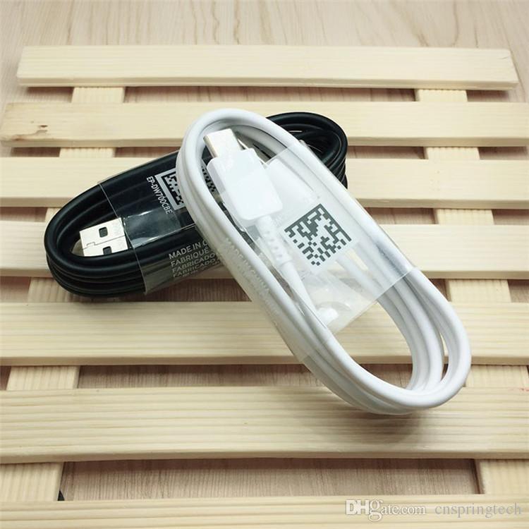 Cavo USB di tipo C di ricarica veloce originale di alta qualità 1,2 metri Samsung Note 8 S8 S8Plus spedizione gratuita