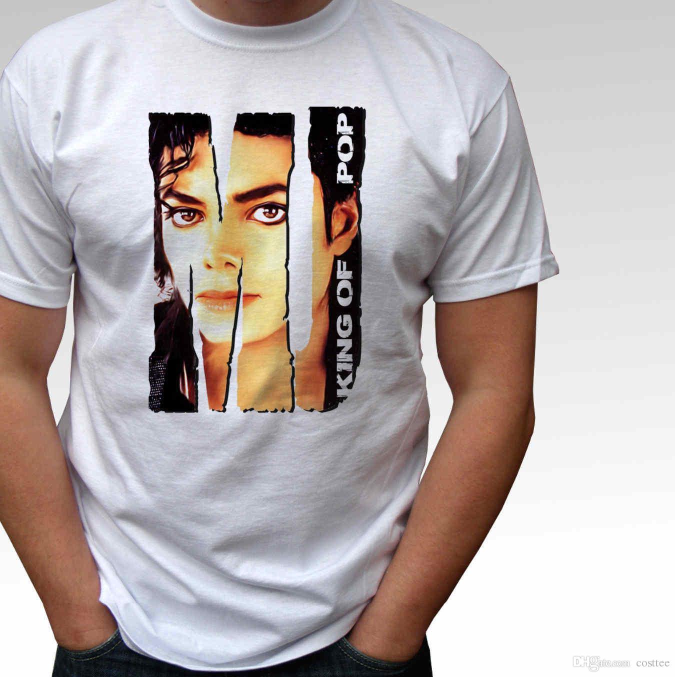 Abbigliamento E Accessori T-shirt E Maglie Useful Bambini Ragazzi Ragazze Michael Jackson Silhouette T-shirt King Of Pop Tribute
