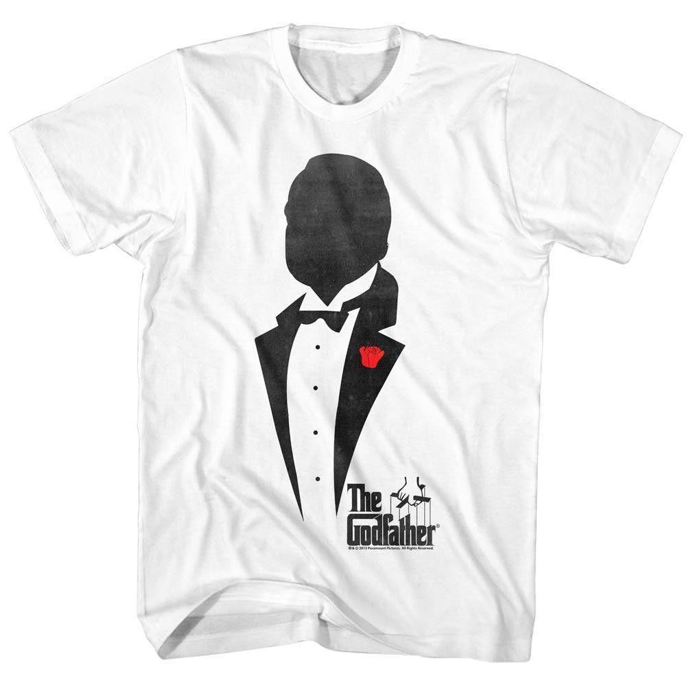 43b88285ab2 Godfather mens short sleeve shirt white godfather silhouette jpg 1001x1001 Mens  fashion silhouette