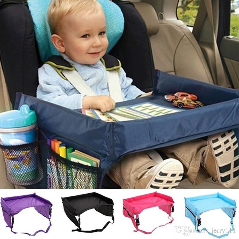 54f350d5a84e Compre Bebé Niños Pequeños Cinturón De Seguridad Del Coche De Viaje Bandeja  De Juego Mesa Plegable Impermeable Asiento De Coche De Bebé Cubierta Del  Arnés ...