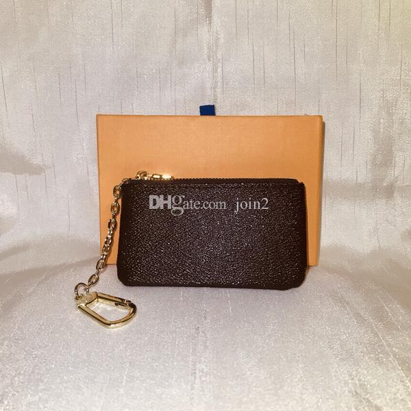 M62650 Luxury Designer Women S Key Wallet Key Pouch Bag Charm France Famous  Mono Gram Canvas Brown White Checkered Key Ring Cheap Wallets Wallets For  Girls ... 25126d38b3