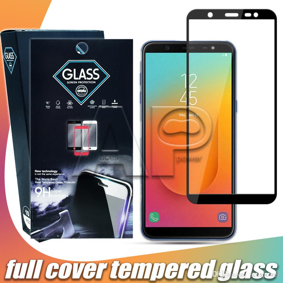 Curved Full Cover Tempered Glass For LG stylus 4 Stylo 5 V50 Moto Z4 Google 3XL 3AXL with Paper Package