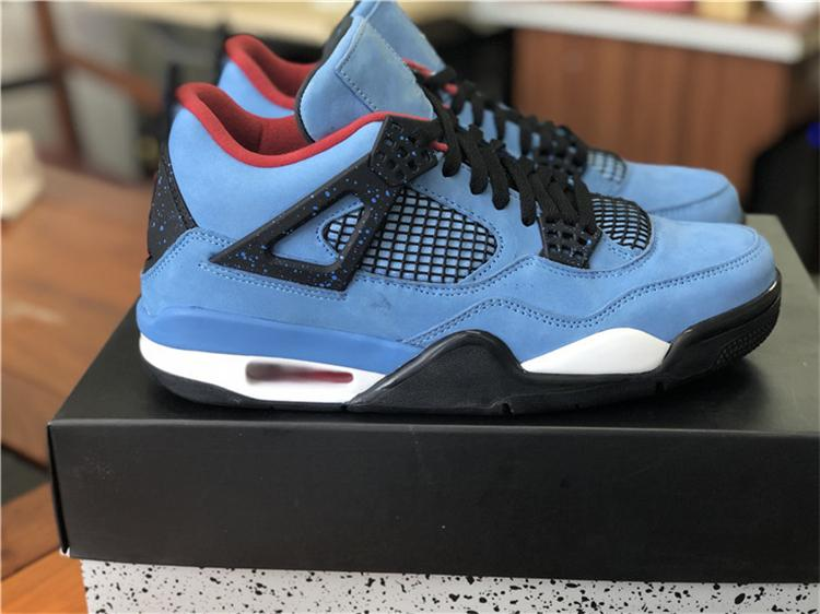06a72b7257c 2018 RELEASE 4 TRAVIS SCOTTS CACTUS JACK HOUSTON OILER BASKETBALL SHOES,NEW  BLUE BLACK 308497 406 MEN RUNNING SHOES WITH BOX Sports Shoes For Women Low  Top ...