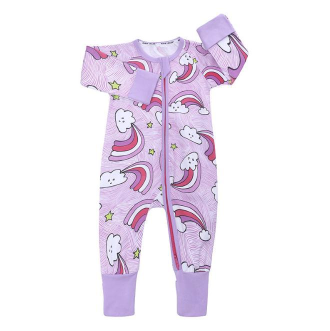adabc8c2f2dc2 2018 Autumn Newborn Baby Romper Cartoon cloud Long Sleeve Jumpsuit Baby Boy  Girl Clothes Cotton Sleepwear Baby Rompers