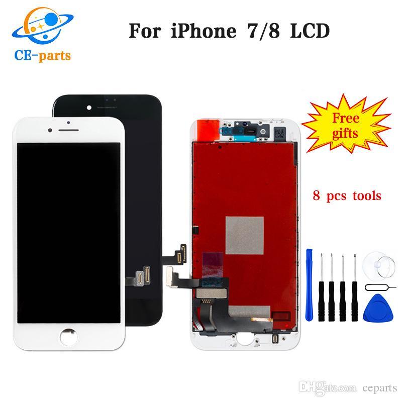 Satn Al Apple Iphone 7 Iin Art 8 Lcd Ekran Dokunmatik Ekranlar Meclisi Saysallatrc Siyahbeyaz Hibir L P 1473