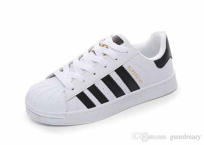 online store 88762 bbf25 Originals Superstar White Hologram Iridescent Junior Superstars 80s Pride Sneakers  Super Star Women Men Sport Runner Shoes 36-44 Online with  22.5 Piece on ...