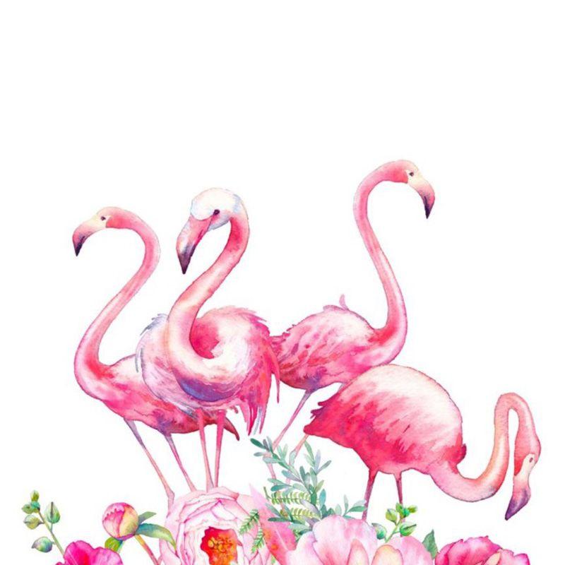 Satın Al 5d Elmas Boyama Pembe çiçek Flamingo Elmas Nakış Diy çapraz