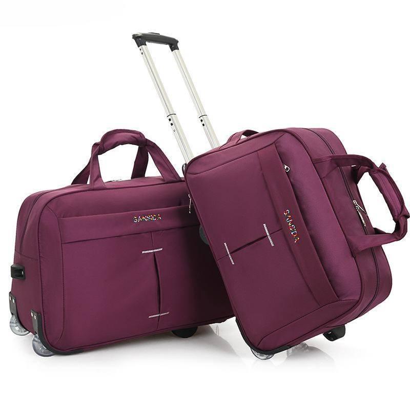 LHLYSGS Brand Women Fashion Cart Tug Case Wheels Travel Hand Luggage Travel  Bag Men Waterproof Suitcase Duffle Bag Garment Bags Computer Bags From  Karinton 8a9e6cda8a01c