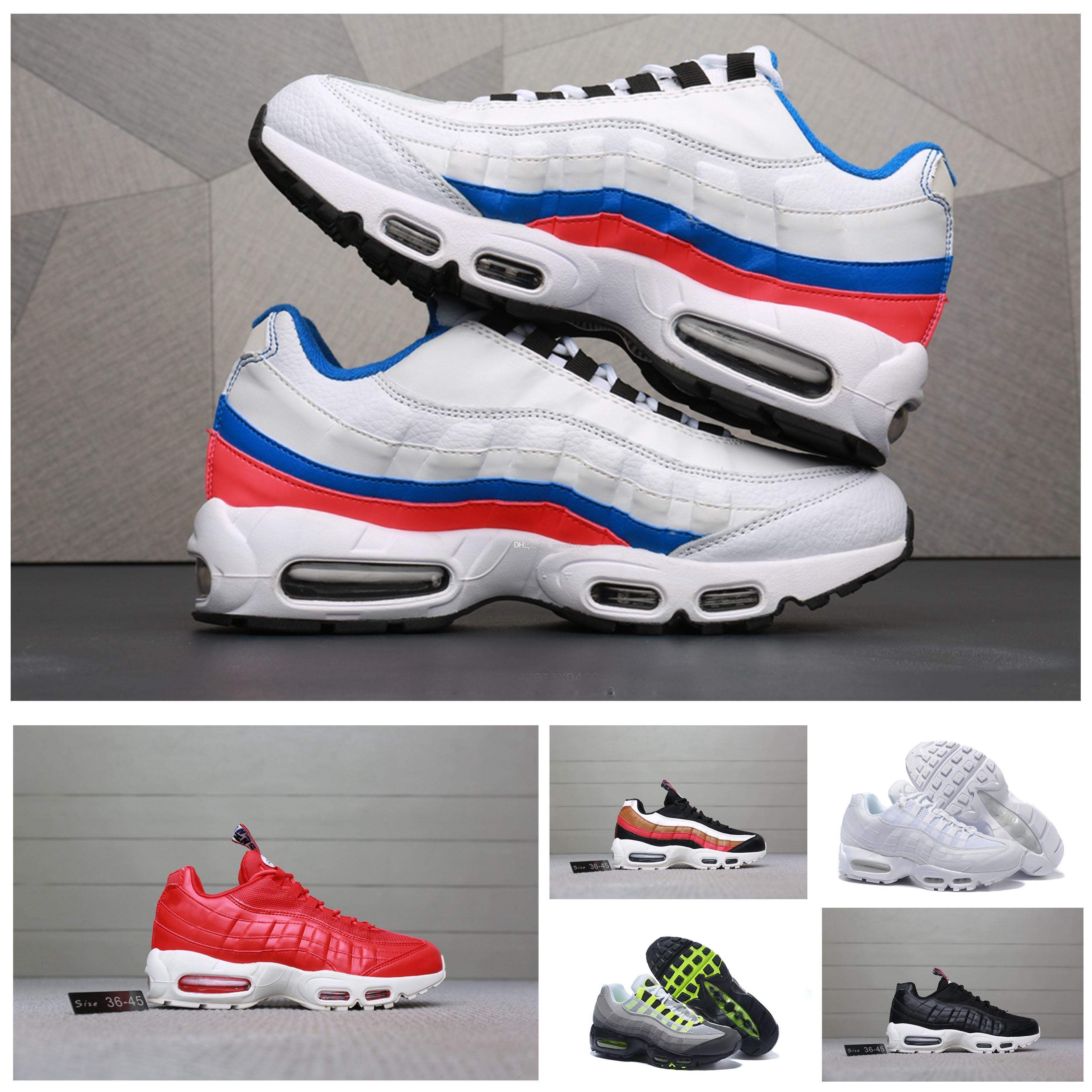 pretty nice d3044 81a0e Acheter Nike Air Max 95 New Air Ultra 20th Anniversary 95 Og Basketball  Chaussures Pour Hommes 95s Tennis Chaussures De Course Livraison Gratuite  Formateur ...