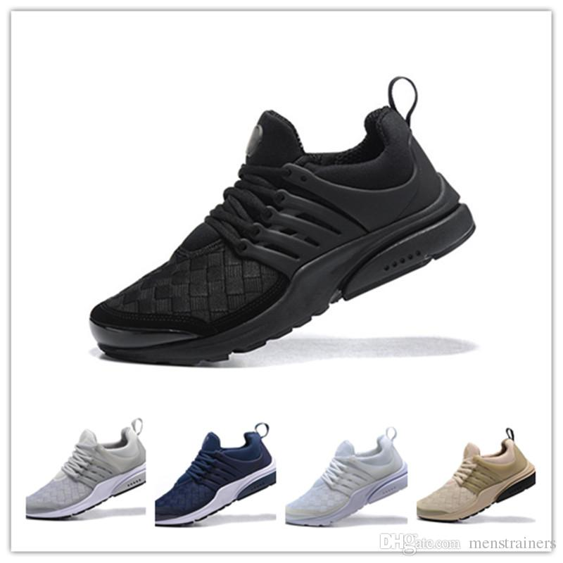 Original Men Presto Weave Designer Shoes Zapatillas Mujer Presto ... a59dddfcd