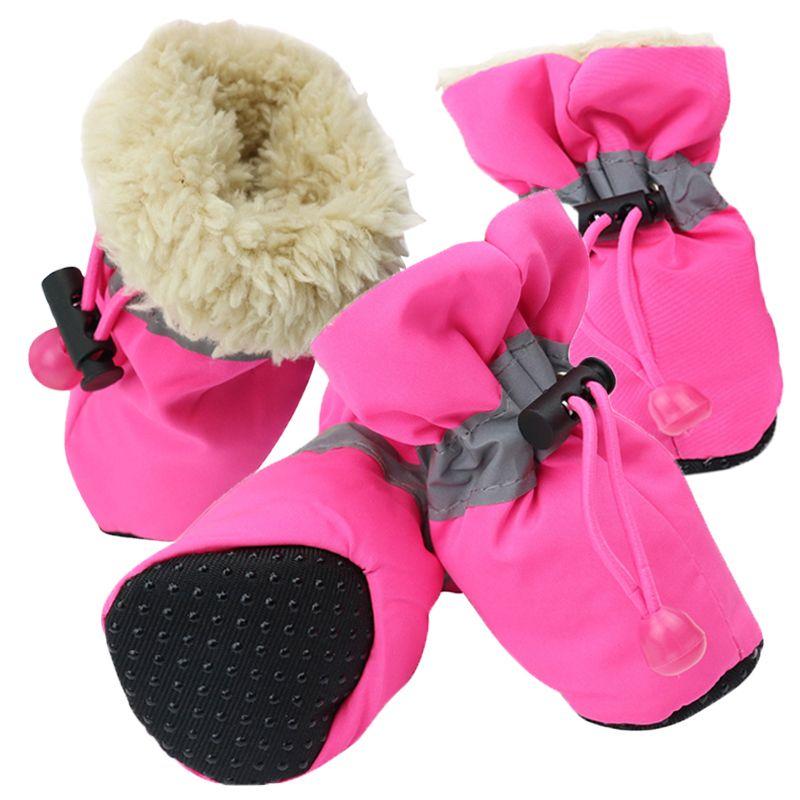 Grosshandel Haustier Hund Schuhe Warme Schuhe Fur Hunde Booties Anti