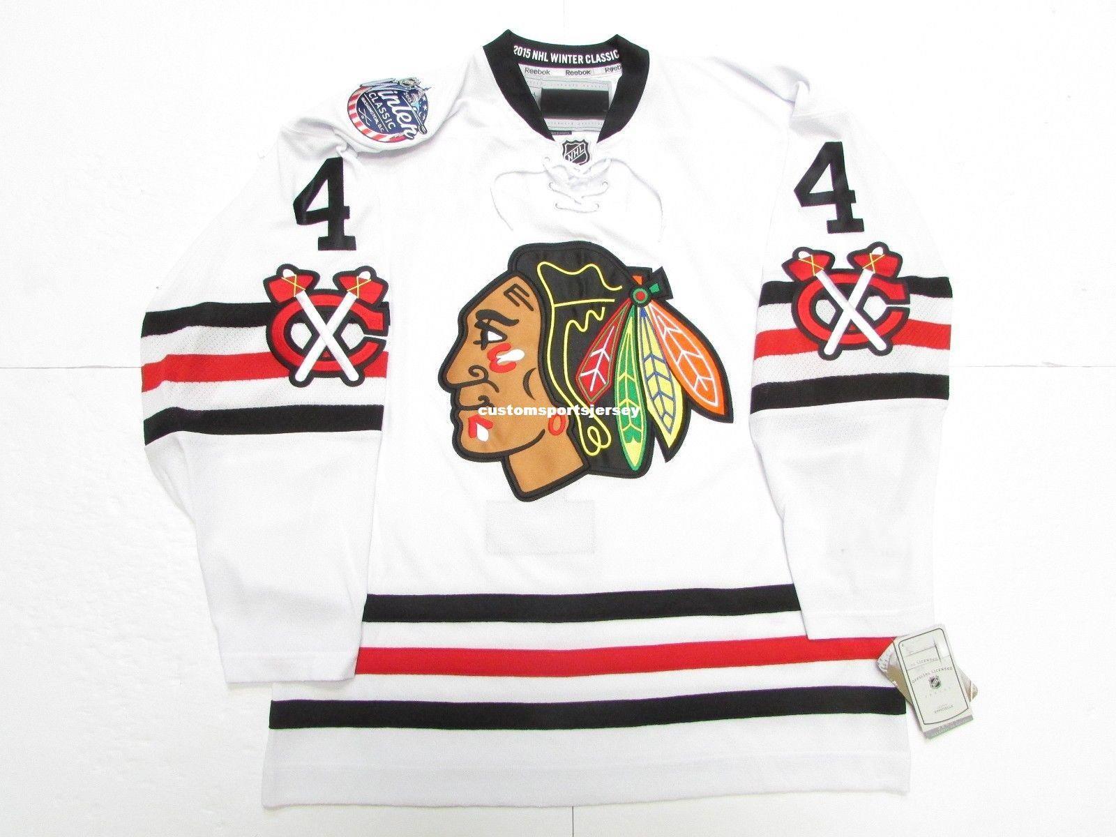 ... 2018 cheap custom hjalmarsson chicago blackhawks 2015 winter classic jersey  stitch add any number an 55b07cfad