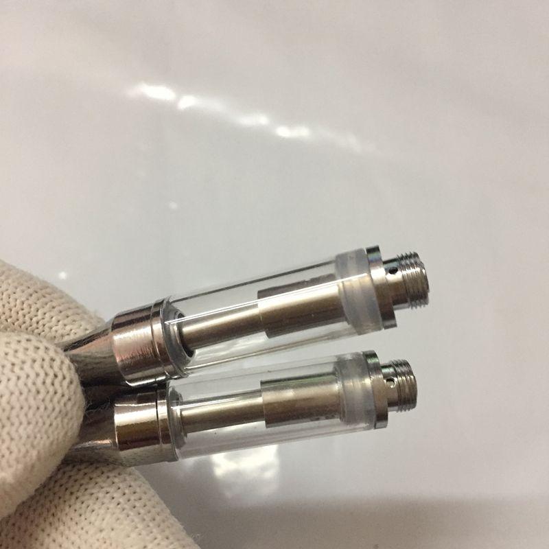 92A3 Vaporizer 92a3 Cartridge 510 Thread Glass Tank Atomizer Vape Cartridges Round Mouthpiece Dual Coil for BUD Touch O Pen Battery