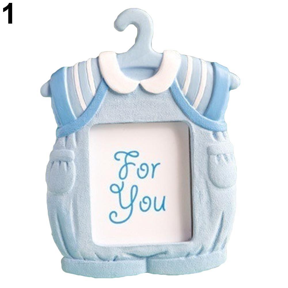 Cute Mini Dress Shape Photo Frame Baby Kids Birthday Synthetic Resin ...