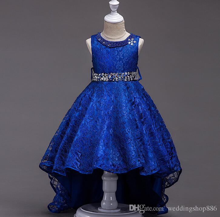 Flower Girl Dresses Royal Blue
