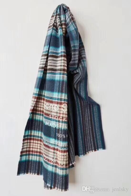 95f262c5bdf Studios Checked Wool Extra Large Scarf shawl current Vogue Shawl Wrap  Unisex luxury designer Scarf Winter Warm Scarf