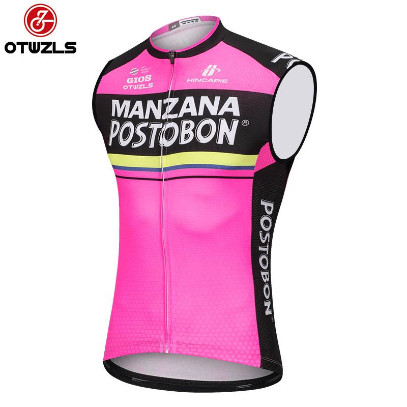 2018 Summer Sleeveless Cycling Jersey Vest Mountain Bike Jersey Ropa  Ciclista Hombre Maillot Ciclismo Racing Bicycle Clothing Best T Shirts For  Men Long ... 098b6ce5d
