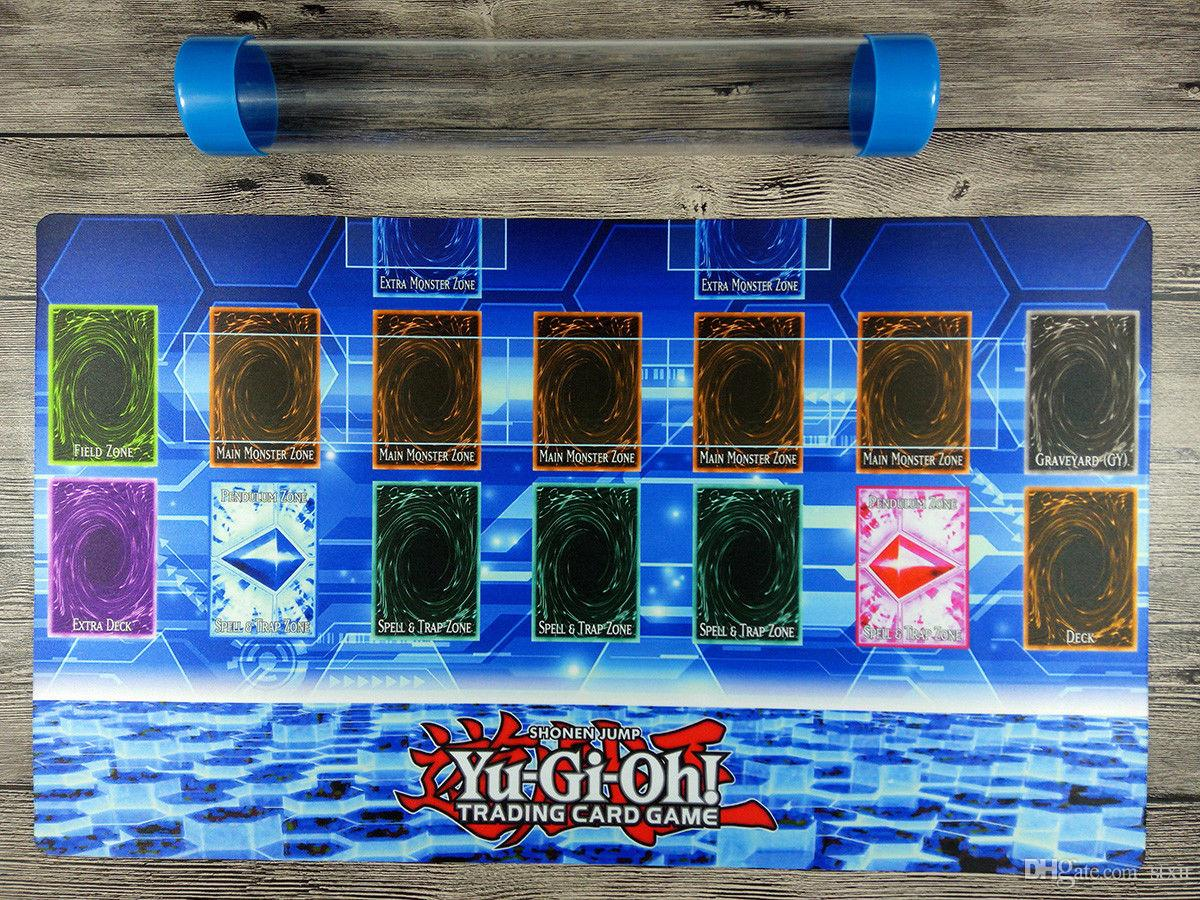 Yugioh master rule 4 link zone template 1p custom tcg for Yugioh mat template