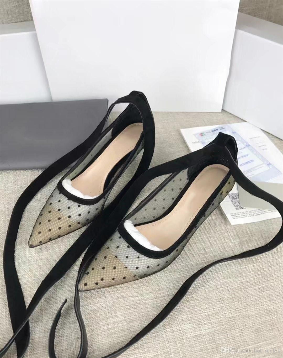 Women Fashion New Style Pointed Toes Breathable Single Shoes Women Strap Mixed Color Show High Heels Girls Shallow Mouth Single Shoes