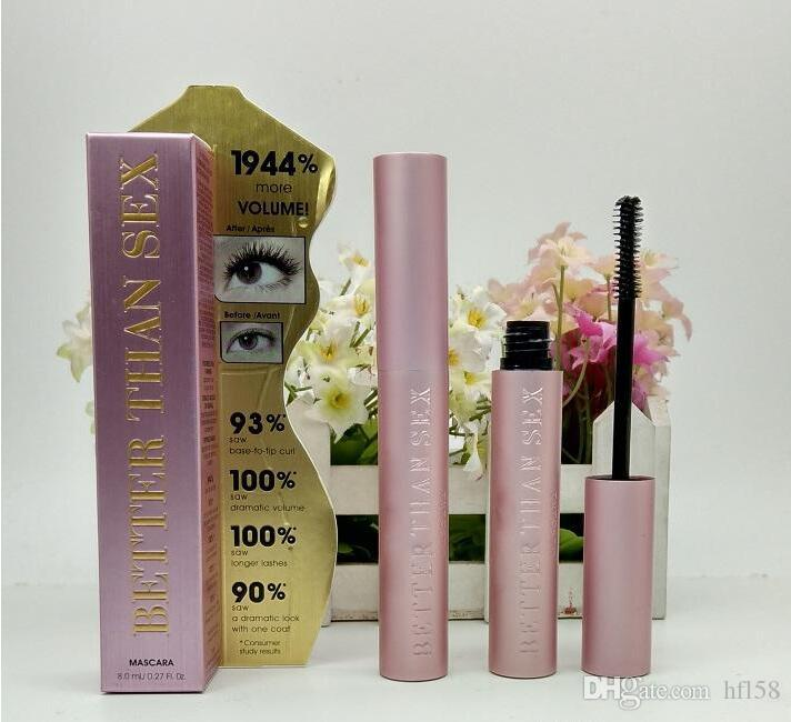 Hot Sale Faced Volume Mascara Better Than Sex Cool Black Mascara with introduction paper TF Thinck Waterproof Elongation High Quality