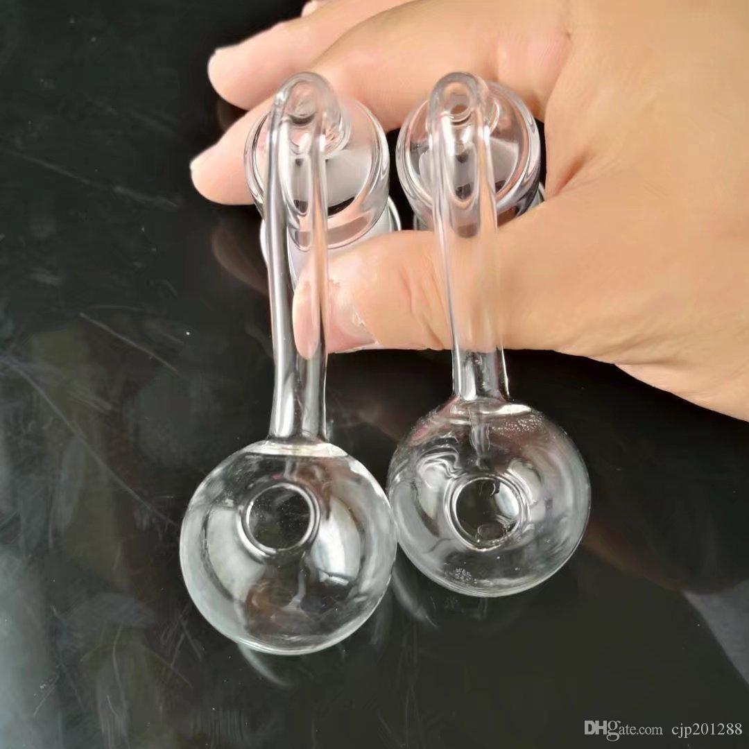 14mm18mms transparente grande pote, Bongos De Vidro por atacado Queimadores de Óleo Tubos De Água Tubos De Vidro Tubulação De Vidro Rigs Fumar, frete Grátis