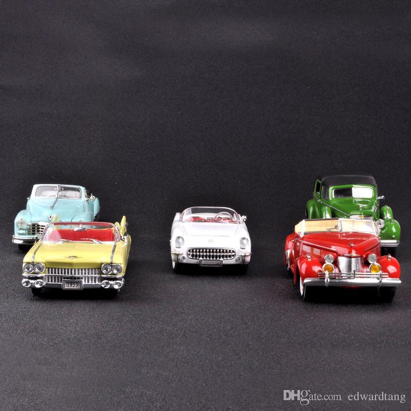 Jouets Gifts ChevroletArtisanat Cadillac De 'birthday' Voiture AlliageVintage Nostalgique Modèle En Kid RétroParty Classique WredoxCB