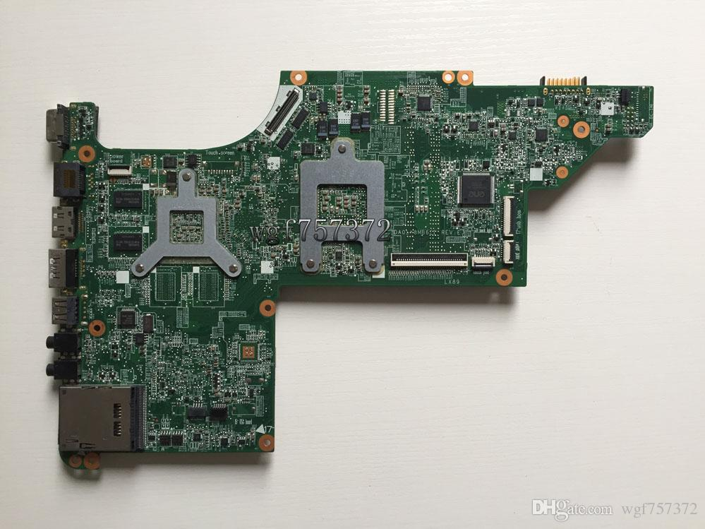 For HP DV7-4000 series 630834-001 AMD Laptop Motherboard DA0LX8MB6E1 s1 DDR3 Notebook Mainboard