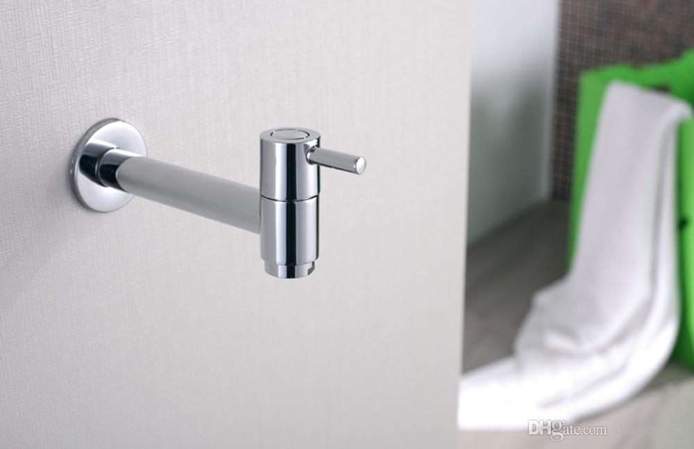 BLL Universal Brass Laundry Faucet Utility Mop Pool Faucets Water Tap Acabado en cromo 18012