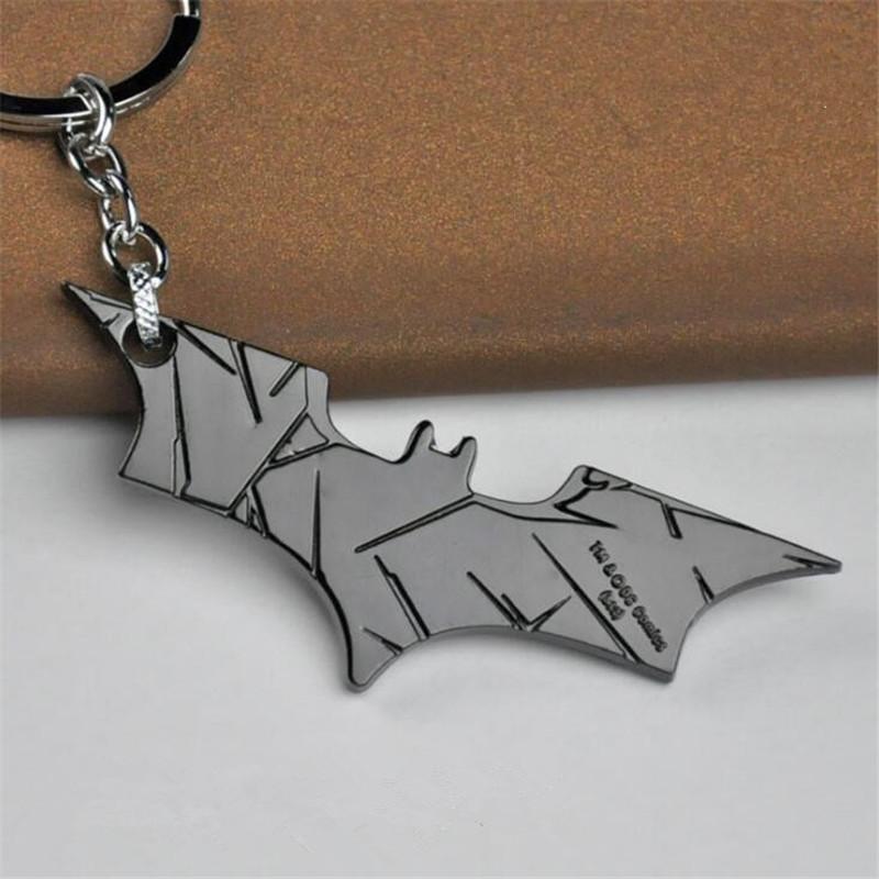 Batman Anahtarlık Adalet Ligi Film Araba Anahtarlık Anahtar Yüzükler Film Takı Hediye Için Sıcak Satış