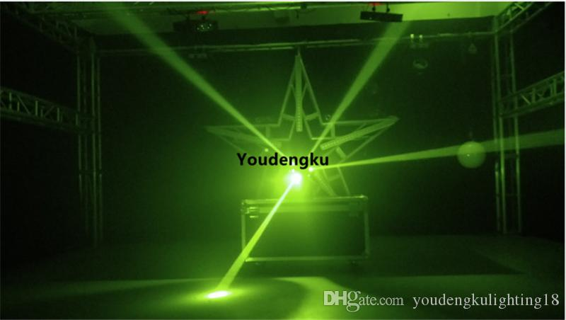 4 piezas de movimiento sin fin led 3in1 haz de luz estroboscópica haz multifocal led haz giratorio Disco cabeza móvil bola luz